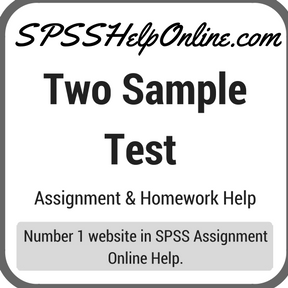 Two Sample Test Assignment Help